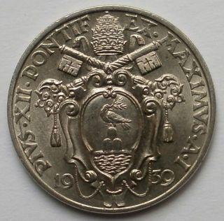 Vatican Pius Xii.  20 Centesimi 1939/i Aunc photo