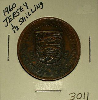 Jersey 1/12 Shilling photo