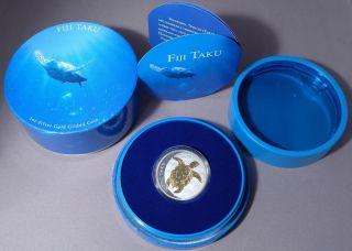 2010 1 Oz Silver Fiji $2 Gilt Taku Ngc Pl - 69 Ucam photo