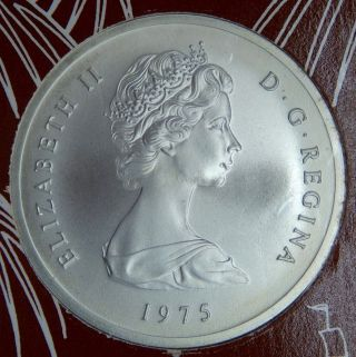 1975 Turks And Caicos Islands 20 Crown Sterling Silver - The Age Of Exploration photo