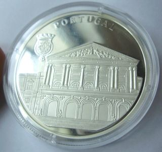 Medaille 10 Euro: Silver 999/1000 Portugal