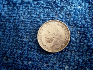 England: Scarce Silver 3 Pence:1932 In About Uncirculated++++ To Uncirculated photo
