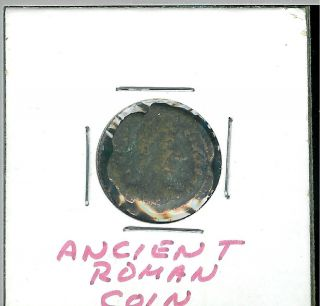 Old Ancient Roman Coin photo