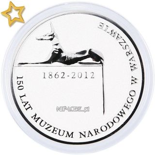 Usd | Poland 10 Zl 2012 150 Years Of The National Museum In Warsaw Silver Proof photo