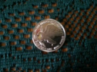 1991 Marshall Islands 5 Dollars,  Heroes Of Desert Storm,  Eagle Bird Coin photo