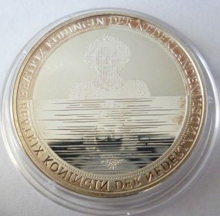 Netherlands 5 Euro 2010 Silver Coin Proof Waterland photo