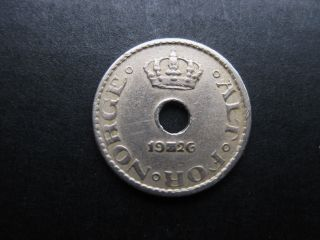 Norway 1926 10 Ore Coin