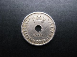 Norway 1924 10 Ore Coin