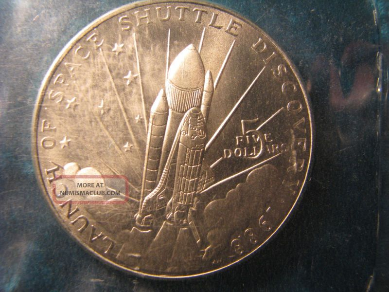 1988 Republic Of Marshall Islands 5 Dollars Coin