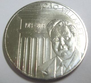 Portugal 2,  50 Euro 2013 - 100th Anniv.  Joao Villaret Unc photo
