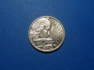 France - 100 Francs - 1957b photo