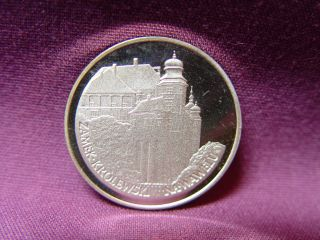 T2: World Coin Poland: Y 1 1977 Silver Proof.  100 Zloty Krakow Castle photo