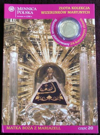 Numizmat - Mother Of God Of Mariazell (20) 2012 photo