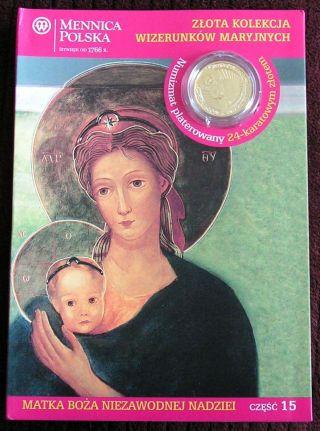 Numizmat - Mother Of God Niezawodnej Nadziei (15) 2012 photo