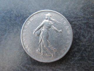 1 Franc France 1960 Coin photo
