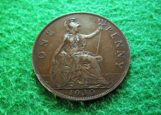 1930 Great Britain Penny - Extra Fine - photo