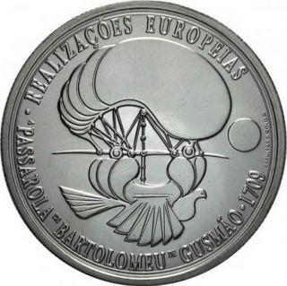 Ek // 8 Euro Silver Coin Portugal 2007 Bartolomeu De Gusmão : Unc photo