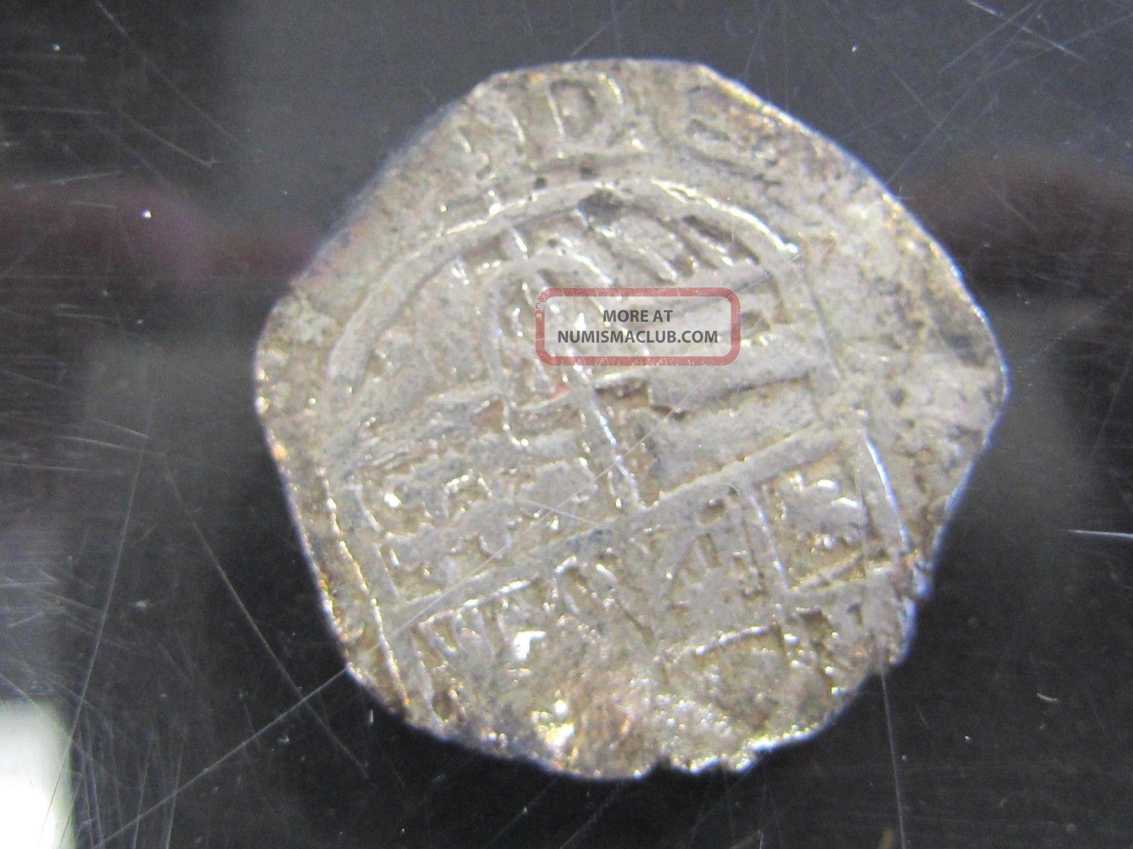 Nuestra Senora De Atocha Shipwreck Coin 4 Reales Mel