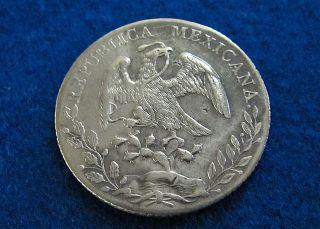 1894 Ca Mexico Silver 8 Reales - Bright Xf - Chiahuahua - photo