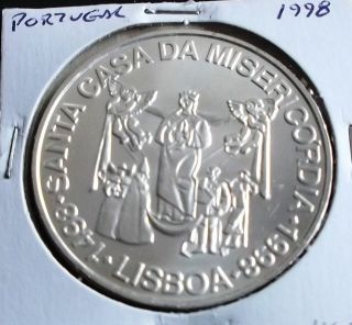 Portugal - 1000 Escudos - 1998 - S.  C.  Misericórdia - Silver photo