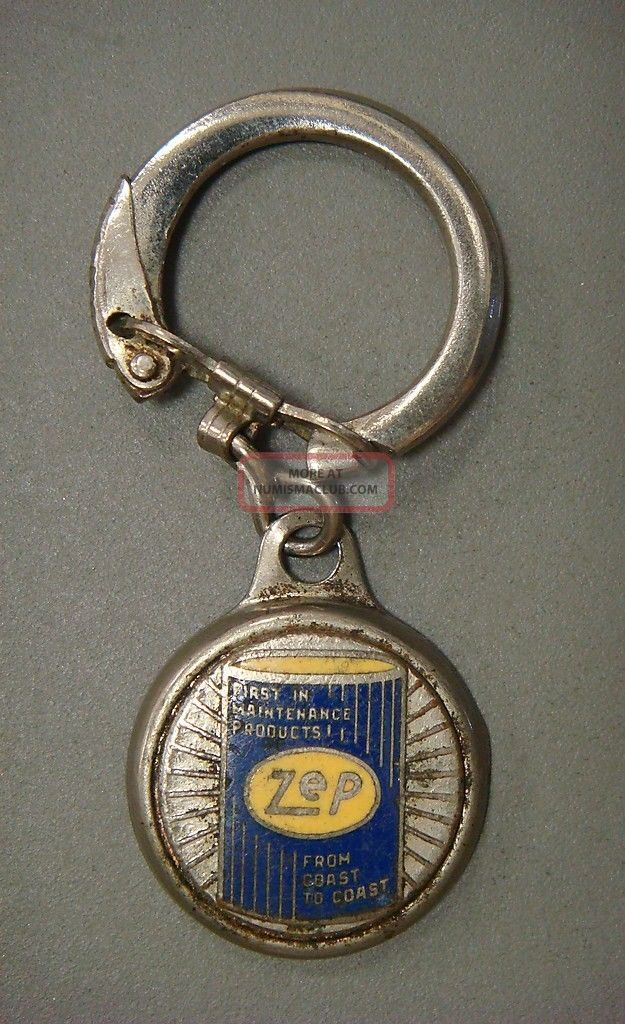 Key Tag - Zep First In Maintenance Products Exonumia photo