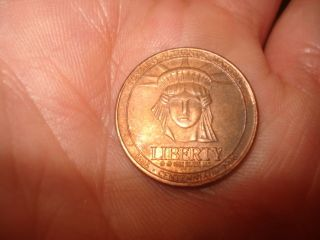 Commemorative Coin For Sears Celebrating 100 Years (1886 - 1986) Token Metal photo