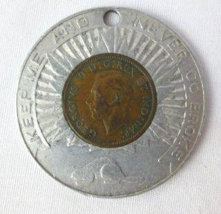 1947 Canada Penny Pendant