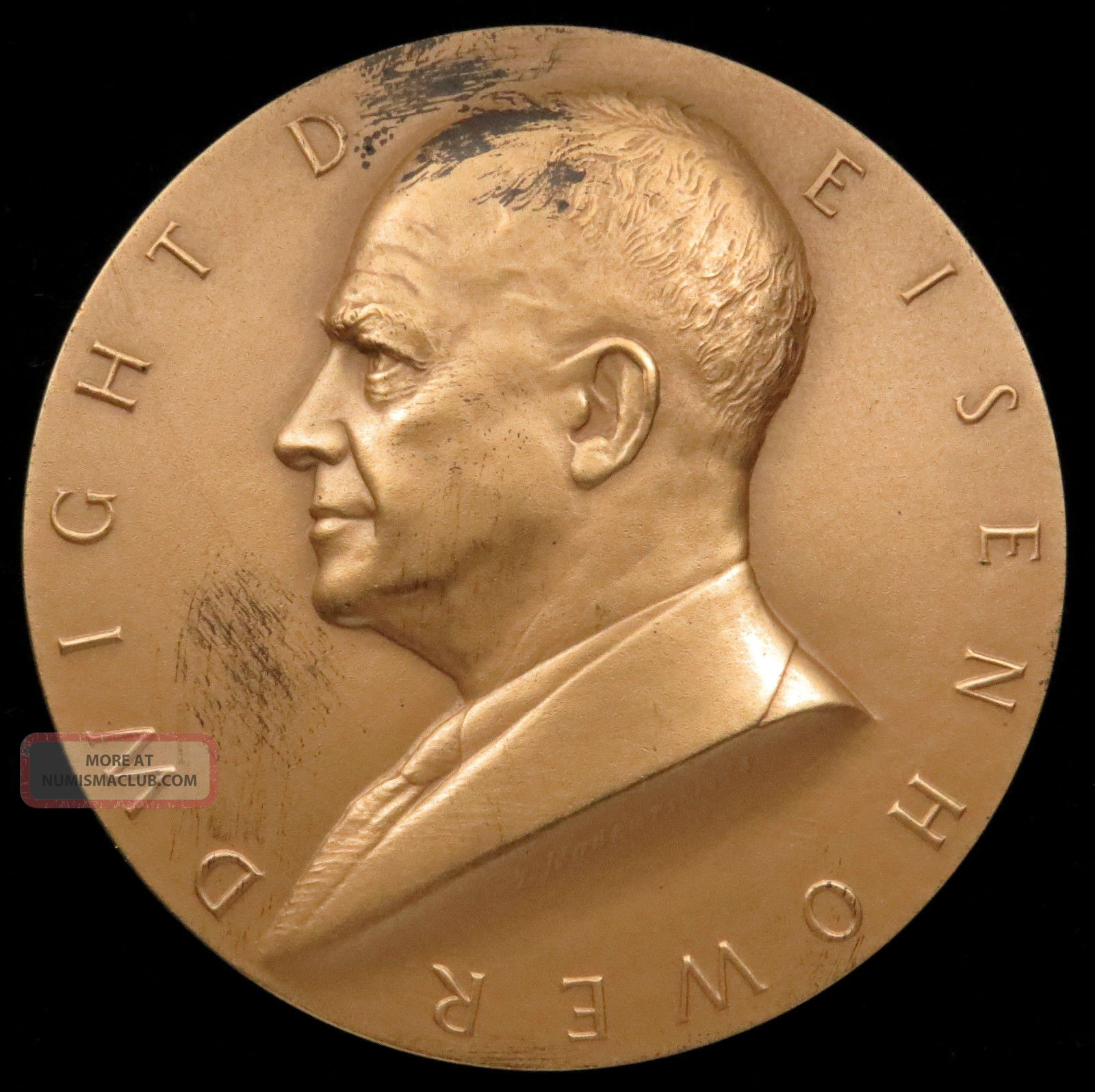 U.  S.  Medal No.  133 President Dwight D.  Eisenhower,  First Term,  3