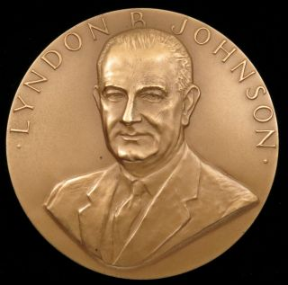 U.  S.  Medal No.  137 President Lyndon B.  Johnson Second Term 3