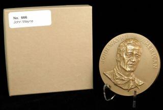 U.  S.  Medal No.  666 John Wayne 3