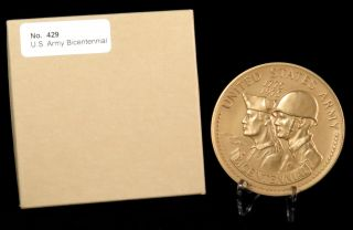 U.  S.  Medal No.  429 U.  S.  Army Bicentennial 3