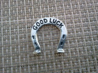 Your Lucky Horse Shoe Good Luck Pocket Coin Piece Pewter All photo