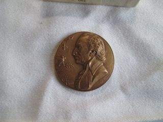 Thomas Paine Hall Of Fame For Great Americans Medal,  1969 By Michael Lantz photo