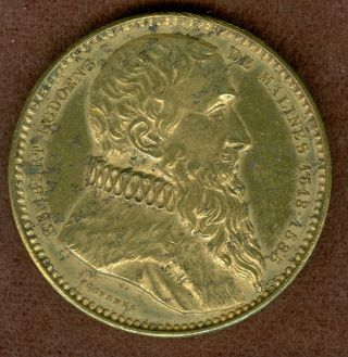 1846 Rembert Dodoens Medal By Adolphe Christian Jouvenel photo