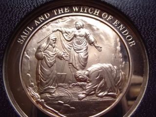 Medallic Bible: Saul And The Witch Of Endor photo