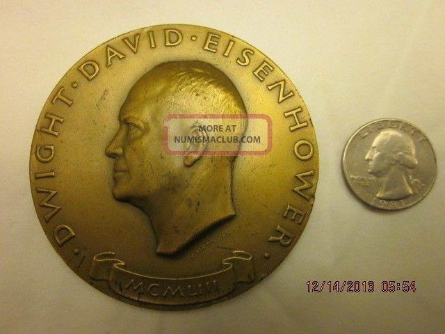 Dwight Eisenhower 1953 Inauguration Medal Exonumia photo