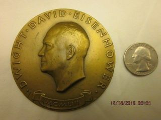 Dwight Eisenhower 1953 Inauguration Medal photo