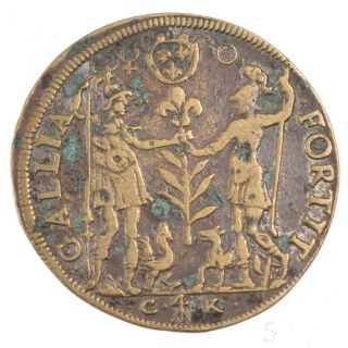 Tokens,  Henri Iii,  Clerks Of Cour Des Monnaies,  Token photo