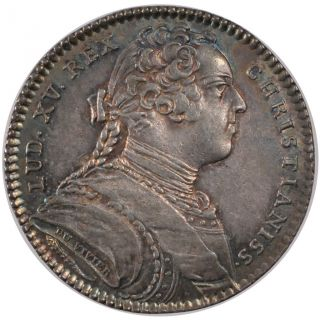 Tokens,  Louis Xv,  Royal Treasury,  Token photo