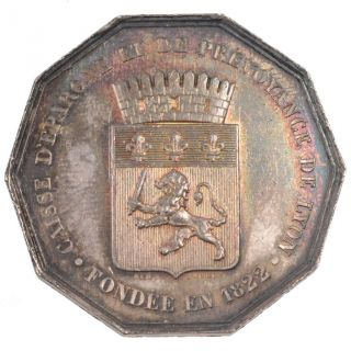 Tokens,  Savings Bank Of Lyon,  Token photo