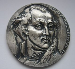 Pulaski Polish American Revolution Cavalry Medal photo