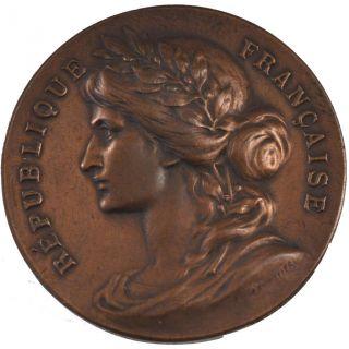 French Medals,  Société Mixte De Tir De Châlon - Sur - Saône,  Medal photo