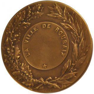 French Medals,  Ville De Roubaix,  Medal photo