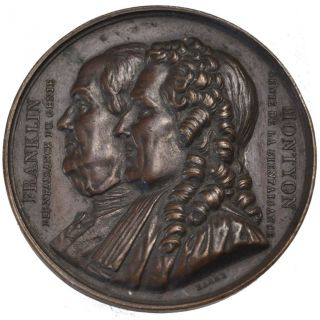 French Medals,  Franklin Et Montyon,  Medal photo