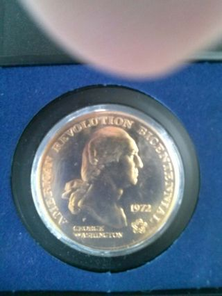 1972 Commemorative Bronze Medal 1 1/2
