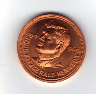 John F Kennedy Copper Token Ii photo