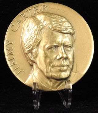 1977 Jimmy Carter Inaugural Medal Medallic Art Company Bronze photo