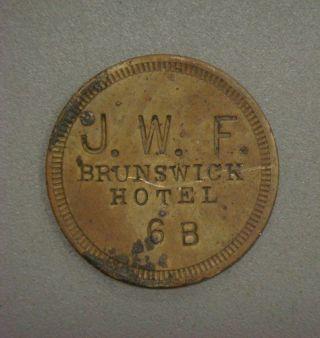 J.  W.  F.  Brunswick Hotel 6b 25 photo