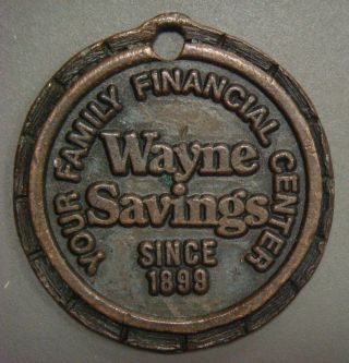 Wayne Savings (wooster,  Oh) Family Financial Center,  Copy Of 1943 Copper Cent photo