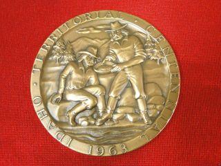 Fine Medallic Art Bronze Medal - 1963 Idaho Territory Centennial Bronze Medal photo